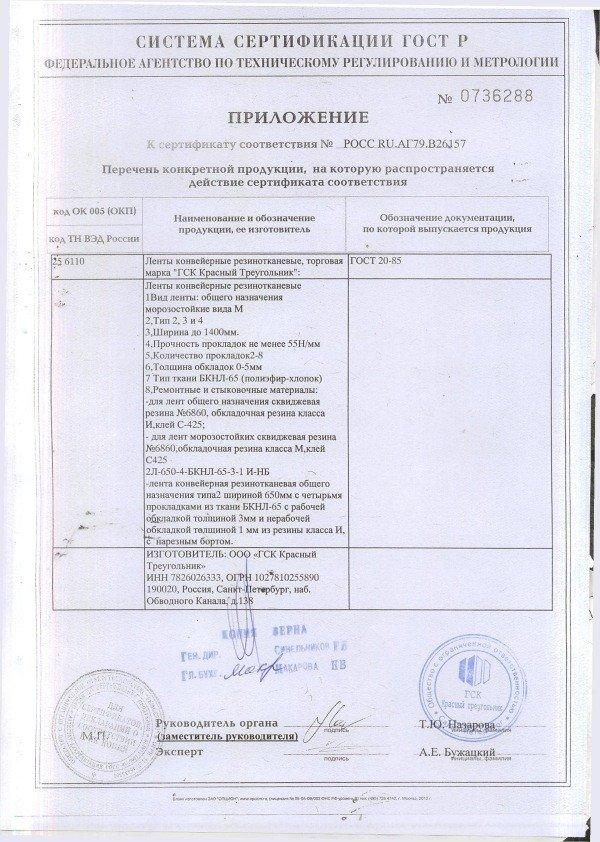 Сертификация лент конвейерных сертификат соответствия на ленты конвейерные сертификация качества 9001