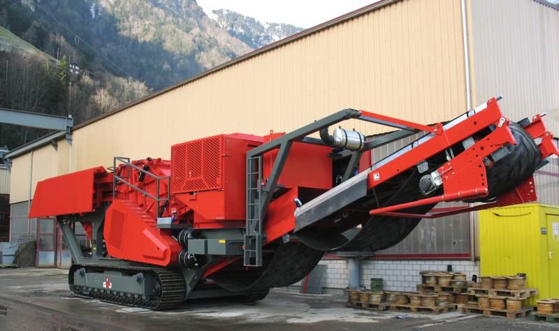 Роторная дробилка ЖИПОРИК (GIPOREC R130 C) с ленточными конвейерами. АО «ММТП». 2020